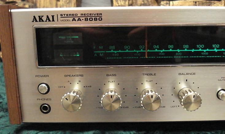 Akai Stereo Receiver Model Aa