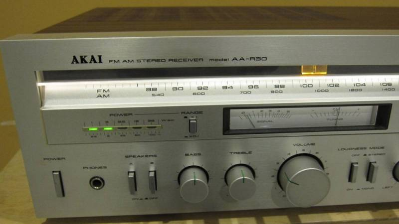 Akai Stereo Receiver AA R30 Information