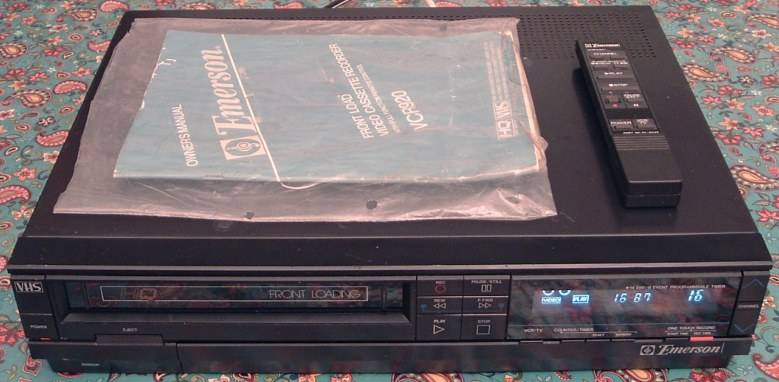 Emerson VHS VCR Model VCR920