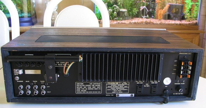 Fisher Stereo Receiver Model RS-1035