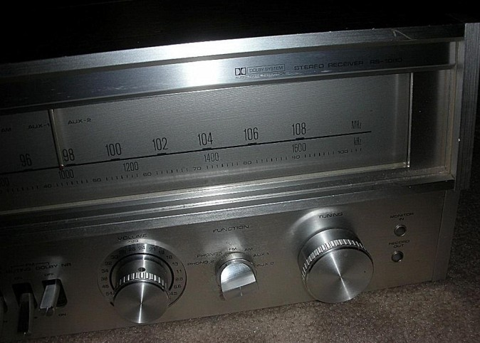 Fisher Stereo Receiver Model RS-1080