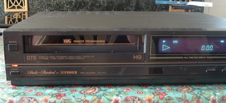 Fisher VHS VCR Model FVH-4000