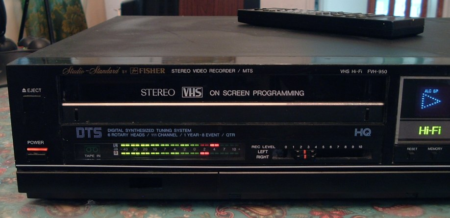 Fisher VHS VCR Model FVH-950