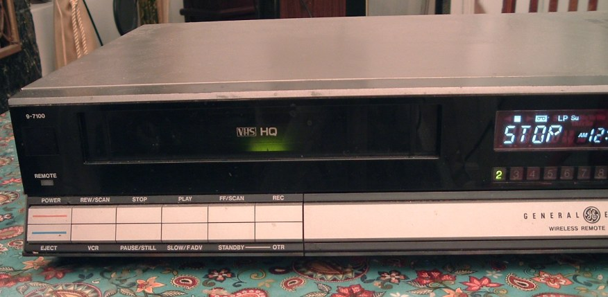 General Electric Vhs Vcr Model9 7100