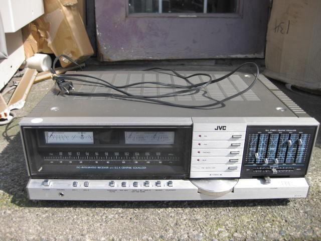 JVC Stereo Receiver Model JR-S301