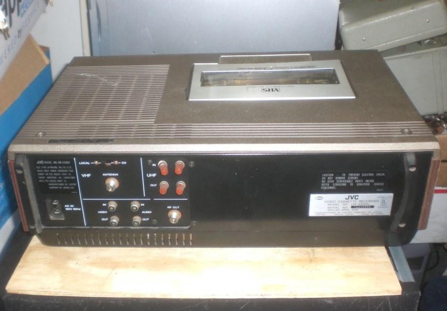 Jvc Vhs Vcr Model Hr 3300u