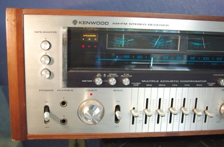 kenwood stereo receiver model eleven g