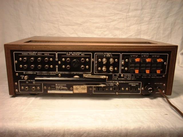 Kenwood Stereo Receiver Model KR-7200
