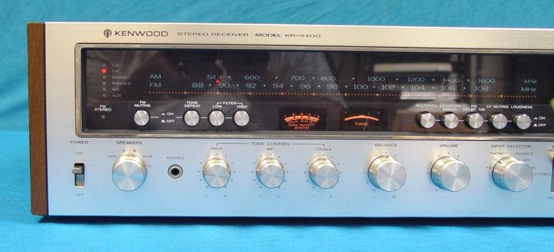 kenwood stereo receiver model kr