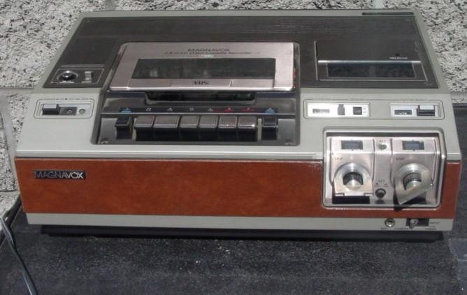 Magnavox VHS VCR Model VH8200BR01