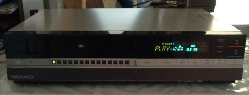 Magnavox Vhs Vcr Model Vr8520sl01