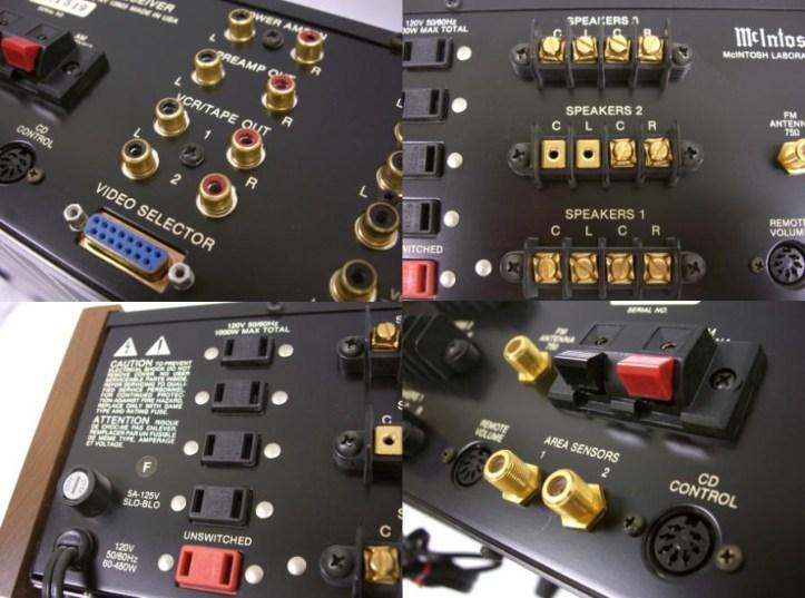 Mcintosh Stereo Receiver Model Mac 4300v