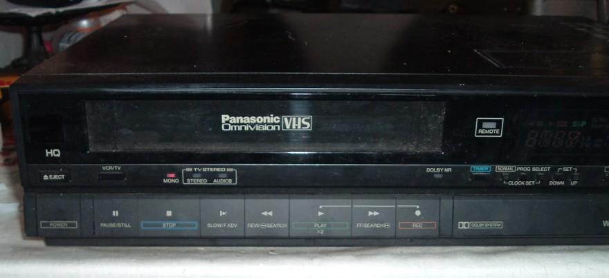 Panasonic Omnivision VHS VCR Model PV-1461