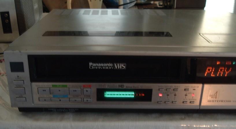 Best Bet Auto >> Panasonic Omnivision VHS VCR Model PV-1730