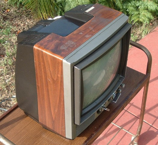 Panasonic Television Set Model CT-117
