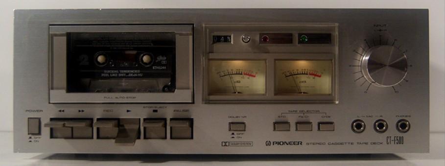 Pioneercassettedeckmodelct F