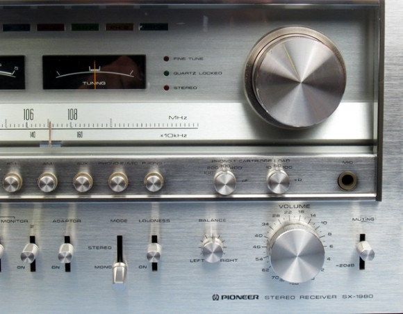 Pioneer Stereo Receiver Model Sx 1980