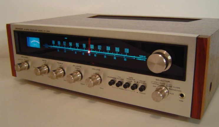 good vintage receiver in the style of pioneer sx 525. Black Bedroom Furniture Sets. Home Design Ideas
