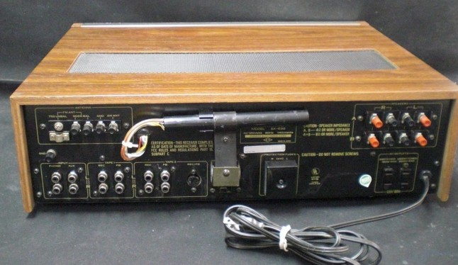 Pioneer Stereo Receiver Model SX-636