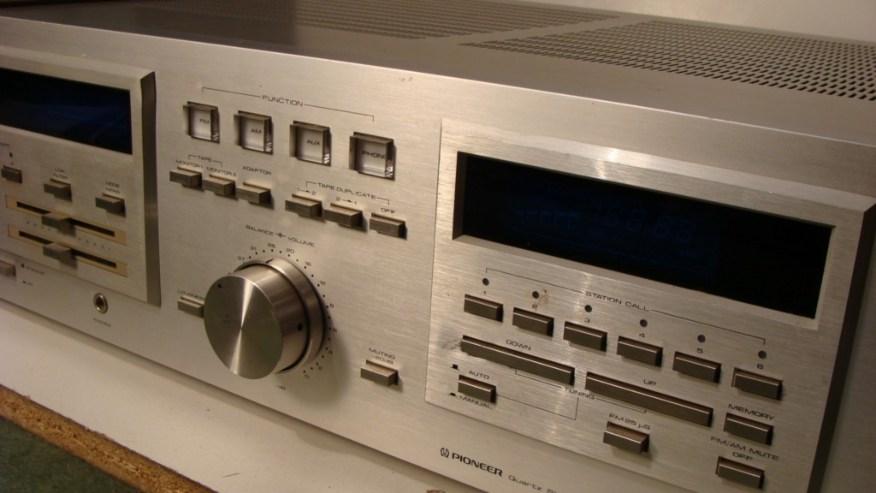 Pioneer Stereo Receiver >> Pioneer Stereo Receiver Model SX-D5000