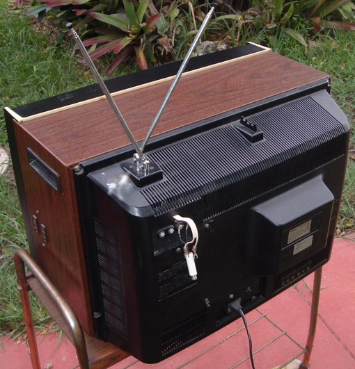 Sanyo Television Set Model 91C61N