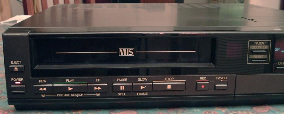 Toshiba VHS VCR Model M-5120