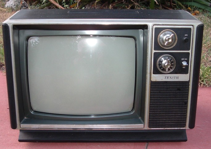Zenith Television Set Model L1310C