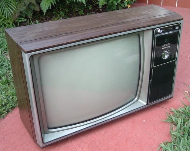 Zenith Television Set Model Unknown