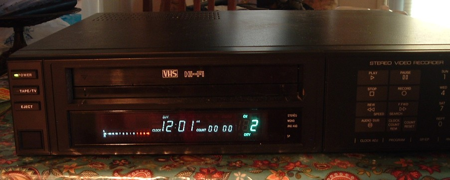 Zenith VHS VCR Model VR 3200