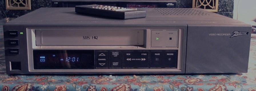 Zenith VHS VCR Model VRD100